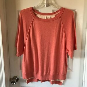 Moth by Anthropologie | Short Sleeve Sweater Top